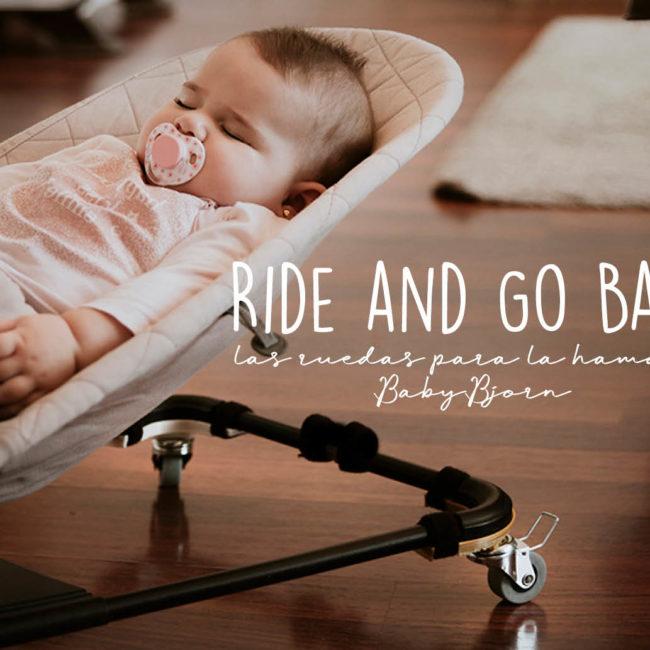 Ride & go baby las ruedas para la hamaca BabyBjorn